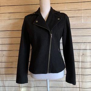 GAP Wool Asymmetrical Zipper Jacket